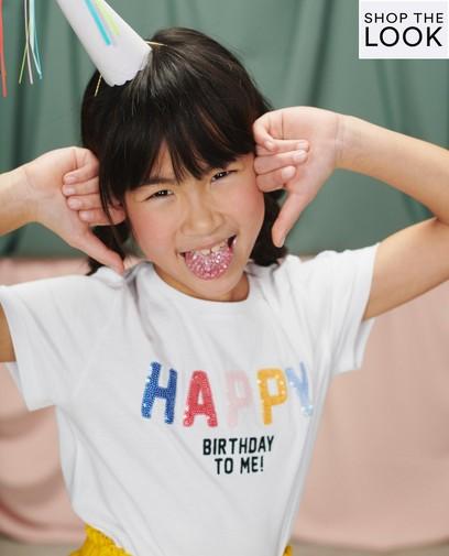 Hét shirt voor de birthday girl!